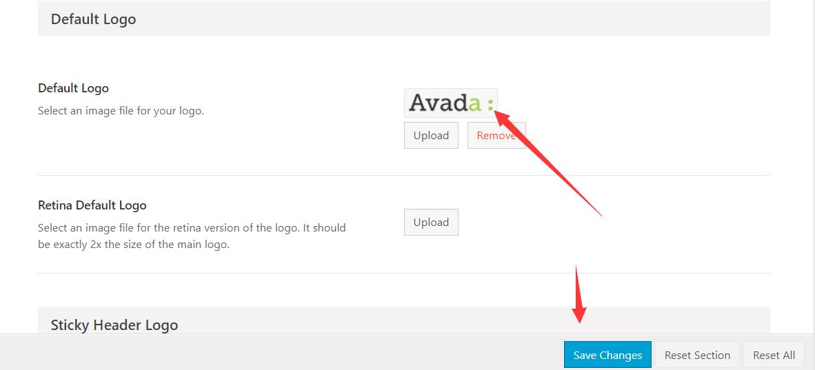 Avada主题包的简单设置2 (1)