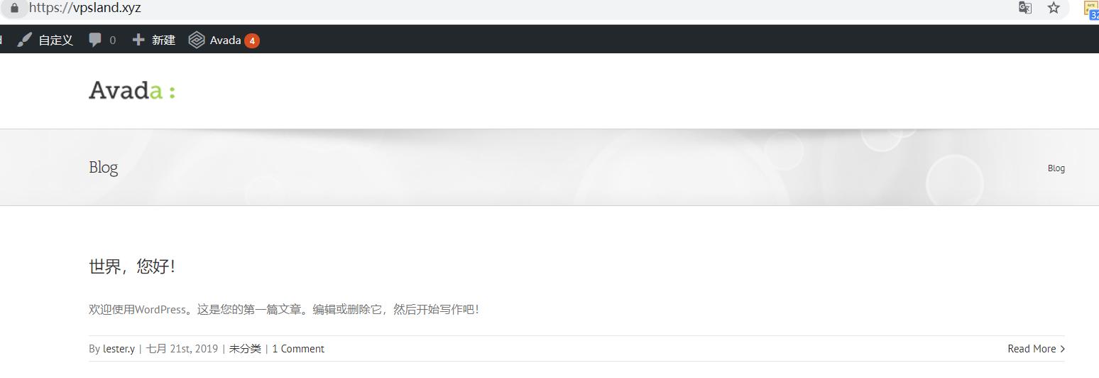 Wordpress网站主题包安装 (5)