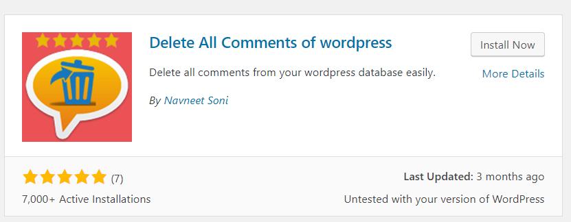 wordpress一键删除所有垃圾评论 (2)